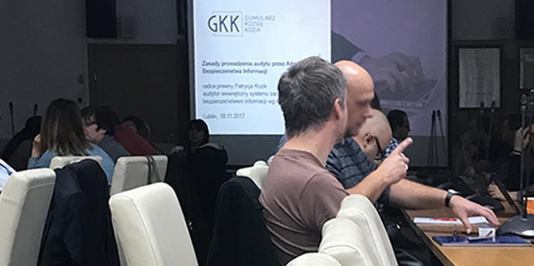 Studia podyplomowe z ochrony danych osobowych z GKK