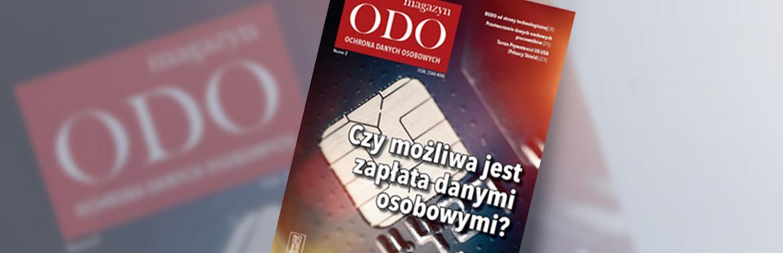 """Tekst numeru w ramach Magazynu ODO (GKK i """"zapłata"""" danymi osobowymi)"""