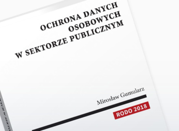 Ochrona danych w sektorze publicznym – publikacja GKK