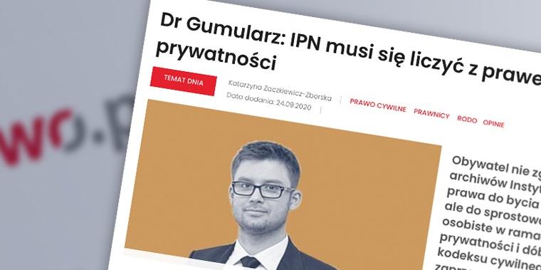 Archiwa IPN a RODO – czy można żądać usunięcia danych?
